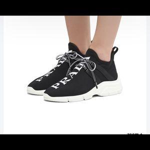 Prada XY Black/White Mesh Sneakers